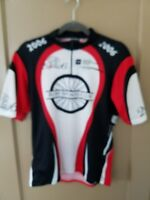 Mens Squadra USA  half Zip  Vest Bike Cycling Jersey Sz L