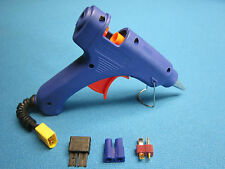 CORDLESS HOT GLUE GUN USES 3S LIPO BATTERY PORTABLE TRX EC3 DEANS T PLUG RC USA