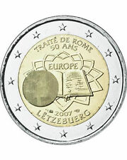 Lussemburgo 2007 - 2 Euro Trattato di Roma Commem (UNC)