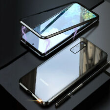 Magnetic Metal Tempered Glass Back Case Cover For Samsung S20 Ultra/S20 Plus/S20