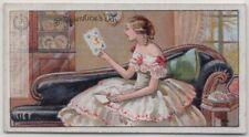 St. Valentine's Day Tradition and Origin 1920s Ad Trade Card