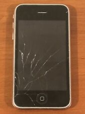 Apple iPhone 3GS Black A1303 (GSM) - Broken Screen Untested Selling As Is!