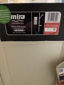Mira 1.1785.003 Advance Flex 8.7 kW Thermostatic Electric Shower - White