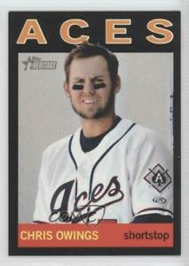 2013 Topps Heritage Minor League Edition Black /96 Chris Owings #209