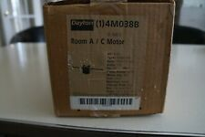 Dayton 4M038B 1/10 HP Direct Drive Fan Motor 1050 Rpm 5 SPD 115 Volts