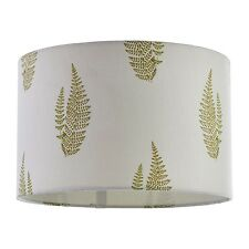 Shabby Chic Green Leaf Fern Ceiling Shade Pendant NEW Bedroom