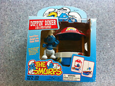 THE SMURFS Dippin 'Diner Playset PLUS PUFFO Figura 1996