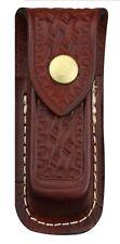 Swiss Army Brown Large Leather Zermatt Pouch 33206 NEW