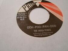 SOUL/FUNK  THE MEGATONES  OOH-POO-PAH -DOO  ,[45 VINYL Vg++,Ohio garage music