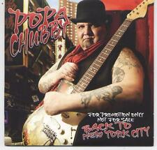 POPA CHUBBY - rare CD album - Europe - Promo Album