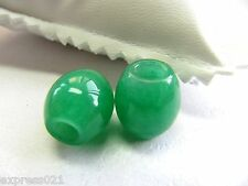1pcs Imperial Chinese Full Rich Green Jade/Jadeite Pendant/Lucky Bead Pendant