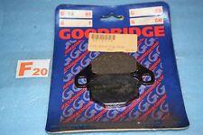 2 plaquettes frein GOODRIDGE Kawasaki KLR 250 600 GPZ 400 500 ZR KX 80 125 500