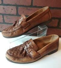 GIORGIO BRUTINI Le Glove Leather Tassel Slip On Loafer SHOE Mens 13 D