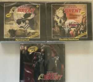 XXL Larry Brent Horror Paket 5 Folgen auf 9 CD zum Wahnsinnspreis !!!!