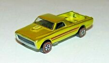 Vintage 1968 Redline Original Skyshow Metallic Yellow Custom Fleetside Near Mint