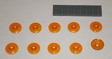 LEGO NEW 2x2 Transparent Orange Dish Inverted (10x) 6109454 Brick 30063