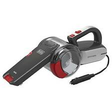 BLACK+DECKER™ ª 12V Automotive Pivot Vacuum - Gray with Chili Red B...