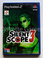 SILENT SCOPE 3 - PLAYSTATION 2 PS2 PLAY STATION 2 - PAL ESPAÑA