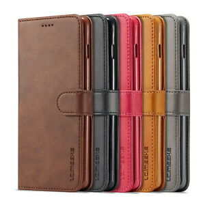 Luxury Magnetic Flip Wallet Leather Case For iPhone 12 Pro Max Samsung S20 Ultra