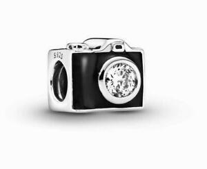 Genuine Pandora Sentimental Snapshots Camera Charm 791709CZ ALE 925