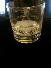 Seagrams Golden Quarterback Challenge III 1992 etched glass NWOB