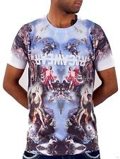 Rocawear Mens Boys Holy Grail Star Summer Holiday Tee Shirts Time Money Is