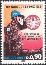 ONU (G) 1989 ONU Pace/premio Nobel per la pace ESERCITO SOLDATI///MILITARI 1v n45894
