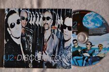 "U2 ""Discotheque"" RARE UK 5""cd single in DIGIPAC"