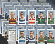 CHURCHMAN-FULL SET- RUGBY INTERNATIONALS (50 CARDS) - EXC