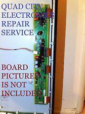 TNPA5623 TXNSS1TFUU SS Board Repair Service TC-P55UT50 8 Blinks + Screws