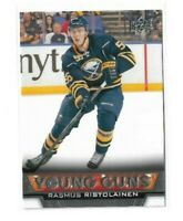 2013-14 UPPER DECK #217 RASMUS RISTOLAINEN YG RC UD YOUNG GUNS ROOKIE