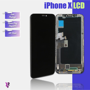 """iPhone X 5.8"""" Black LCD Replacement 3D Touch Screen Digitiser Assembly"""