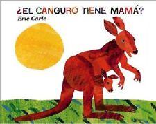 El Canguro Tiene Mama? NEW Book by Eric Carle