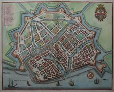 Emden - Emda - Merian - Originaler Kupferstich - 1650