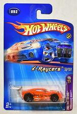 HOT WHEELS 2005 X-RAYCERS 2/10 PARADIGM SHIFT #052 FACTORY SEALED