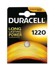 2 X Duracell Dl1220 Battery Cr1220 Lithium 3v Button Battery CR 1220 Battery