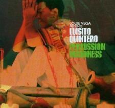 LOUIE VEGA Presents LUISITO QUINTERO - PERCUSSION MADDNESS CD (NEW SEALED) Latin