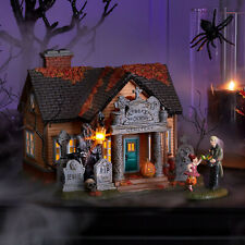 Dept 56 Halloween Village The Cemetery House 6005476