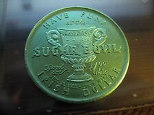 pat o'briens hurricane sugar bowl nebraska alabama 1967 doubloon orleans coin