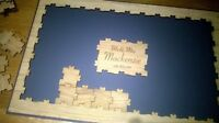 drop box Personalised Oak frame puzzle Wedding Guest Book birthday