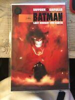 Batman The Last Knight on Earth #1 DC BLACK LABEL JOCK VARIANT 1st Print SNYDER