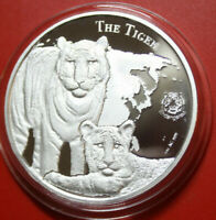 "NIUE 1 Dollar 2015 ""The Tiger"" 1 oz,  #F3167 Endangered Species Proof nur 2000St"