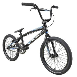 "2021 CHASE EDGE PRO XL 20"" Complete BMX Bike Black/Blue"