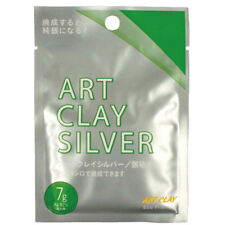 NEW Art Clay Silver 7g Clay Type Precious Metal Clay Silver PMC Low fire Japan