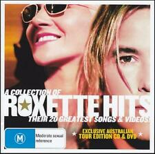 ROXETTE (CD + DVD) A COLLECTION OF THEIR 20 GREATEST HITS ~ BEST OF 80's *NEW*