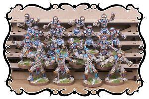 FANTASY FOOTBALL - GASPEZ-ARTS - Team Egyptian Warriors (16 miniatures)