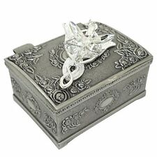 Silver Plated Pendant Necklace Lord of the Rings Arwen's Evenstar +Jewelry Box
