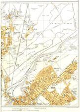 DONCASTER.Bentley,Intake,Willow Bridge,Wheatley Hills,Arksey 1935 old map