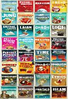 Graphic Guide Introducing 32 Books Collection Set Lacan, Freud, Marxism, Jung