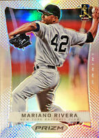 2012 Panini Prizm Mariano Rivera Silver Refractor Parallel #32